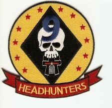 + Battlestar Galactica écusson patch Viper escadrille 9 Headhunters