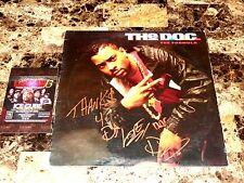 "The D.O.C. Signed 12"" Vinyl Record The Formula Rap Hip Hop DOC NWA N.W.A. Eazy E"