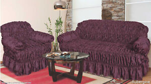 Assorted Jacquard Sofa Covers for 1, 2 & 3 seater sofa / Alternate to Sofa Throw