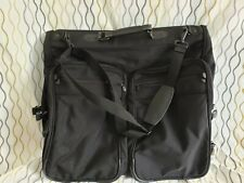 BRIGGS & RILEY Black Ballistic Nylon Deluxe Garment Bag w/ Shoulder Strap