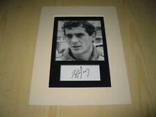 Ayrton Senna Formula F1 McLaren mounted photograph