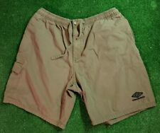 Vintage Umbro green mens shorts size large VTG 1990s
