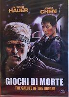 Giochi Di Morte - The Salute of The Jagger DVD Nuovo Sigillato Rutger Hauer Chen