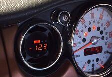 P3 Cars Integrated VIDI OBD2 Vent Gauge Mini Cooper R51 R52 R53 JCW