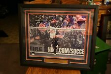USA soccer Tim Howard 16x20 autographed picture framed and matted. JSA certified