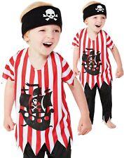 Toddler Baby Jolly Piraten Kostüm Junge Karibik Seeräuber Kostüm Kinder Outfit