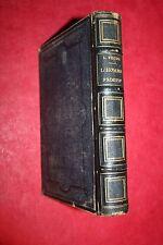 L'HOMME PRIMITIF par  LOUIS FIGUIER éd L. HACHETTE 1876  ILLUSTRATIONS