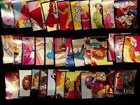 35ct Vintage Panini Barbie Rockers 1986 Sticker Album Lot Mattel (No Duplicates)