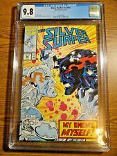 Silver Surfer #64 Key Rare CGC 9.8 NM/M 1st Black Body Fallen Knull Cates Marvel