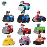 Paw Patrol Dogs Car Toys Action Figures Model Toy Chase Marshall Ryder
