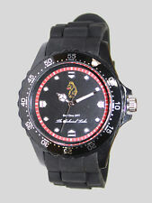 Luke 1977 Mens Grimaud Plastic Strap Sports Lion Analog Wrist Watch
