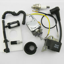 Pro Carburetor Ignition Coil Carb Kit For Stihl 017,018,MS170,MS180 Chainsaw New