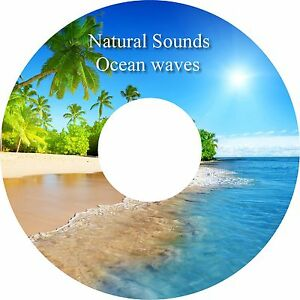 Natural Sounds Ocean Waves CD Relaxation Help Sleep Stress & Anxiety Relief Heal