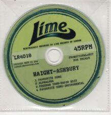 (GU45) Haight-Ashbury, Favourite Song - 2010 DJ CD