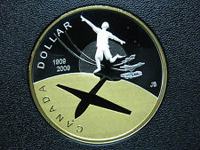 2009 100th Anniversary of Flight in Canada, Canadian Gold Plated Silver Coin