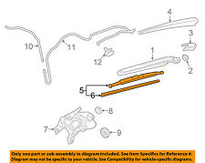 GM OEM Wiper-Rear Window Blade 20999459