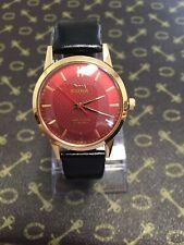 Vintage Wrist Watch 1970's HMT Sona Mens 17J Hand /Wind Gold Pl. Working Mint