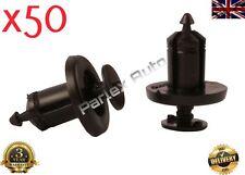 10Pcs RENAULT roue Mud Guard /& Doublure Fastener 8-9 mm Rivet//Cage Clip Garniture