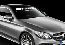 Windshield Decal Fits on Amg Mercedes Benz Select Size