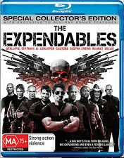 THE EXPENDABLES Blu-ray Special Collectors Edition+Special Features FREE SHIP