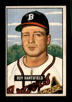 1951 Bowman #277 Roy Hartsfield EXMT/EXMT+ RC Rookie Bos Braves 401850