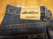 Levis Loose Straight Fit Jeans Black Wash Irregular Irregular New sz 14 FreeShip