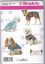 From UK Sewing Pattern Dog Coat  #3939