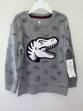 NWT 365 Kids Brand Boys Dinosaur Sweatshirt Sz 5