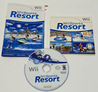 Wii Sports Resort With Cardboard Sleeve Manual And All Inserts