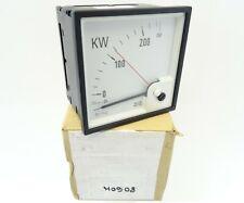 Drehspulinstrument Wattmeter DEIF GQ96 Delomatic Leistungsmeßer DQ96 -25-0-250kW