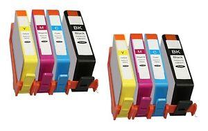 8 x Patronen für Lexmark Pro205 Pro805 Pro901 Pro905 / Nr. 100 105 SUPER XXL