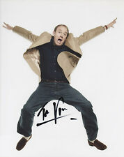 TIM VINE Signed 10x8 Photo RECORD BREAKING Comedy  COA