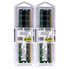 2GB 2 x 1GB DDR2 Desktop Modules 4200 Low Density 240 pin 240-pin Memory Ram Lot