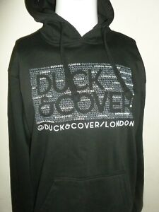 DUCK AND COVER MENDEL LOGO HOODIE BLACK SIZE 2XL NEW NWT