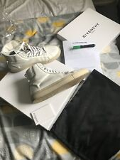 Givenchy Hommes Baskets Chaussures High Tops 100% authentique Taille 41 ultra rare