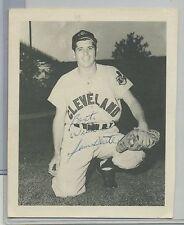 1970s (4X6) Photo Sam Dente Cleveland Indians Autograph