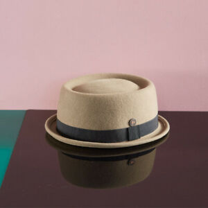 Jack Skimpy Brim  Felt Porkpie Winter Mens Womens Short Brim Rude Boy Jazz Hat