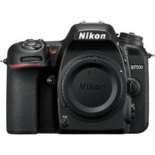 Nikon D7500 Wi-Fi 4K HD Digital DSLR Camera Body - NIKON USA WARRANTY