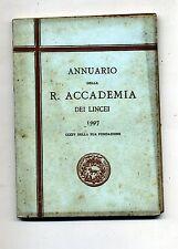 ANNUARIO DELLA R.ACCADEMIA DEI LINCEI 1907 # Tip. della R.Accademia dei Lincei