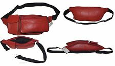 Leather waist pouch. waist bag, leather bag, Fanny pack, Waist 35 to 50 inches