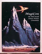 1992 Magicon World Science Fiction Convention Program Book (K9704)