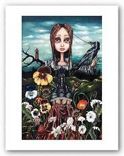 FANTASY ART PRINT Madame Nature Angelina Wrona