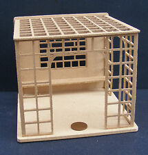 1:24 Scale Flat Pack Natural Finish MDF Wooden Garden Trellis Dolls House