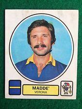 CALCIATORI 1977-78 77-1978 n 338 VERONA MADDE' Figurina Sticker Panini NEW