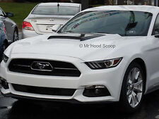 2015, 2016, 2017 Hood Scoop for Ford Mustang By MrHoodScoop UNPAINTED HS009