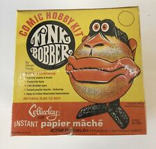 Fink Bobber Celluclay Papier Mache Comic Hobby Kit Vintage New Old Stock