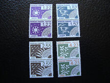 FRANCE - timbre yvert et tellier preoblitere n° 186 a 189 x2 n** (A24) stamp