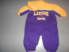 Lakers Baby Outfit Size 3 to 6 Mos.