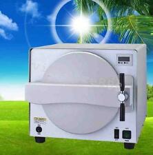 18L Autoclave Medical Steam Sterilizer Dental Lab 900W Sterilizer Equipment 110V