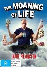 The Moaning Of Life : Season 1 - DVD NEW & Sealed - R4 AUS Karl Pilkington